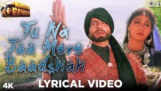 Tu Na Jaa Mere Baadshah Lyrical Khuda Gawah Amitabh Bachchan &amp Sridevi Alka &amp Mohammad