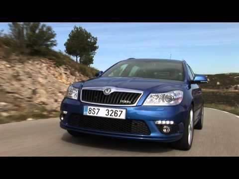 Skoda Octavia Combi Rs Универсал класса C - рекламное видео 3