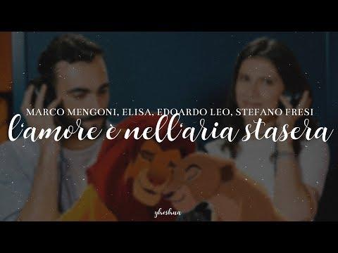 """L'amore è nell'aria stasera (Di """"Il Re Leone"""") [Testo]"""
