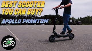 Is the Apollo Phantom the Best Electric Scooter on the Market? | Apollo Phantom Review