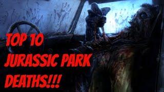 Top 10 Jurassic Park Deaths! - dooclip.me