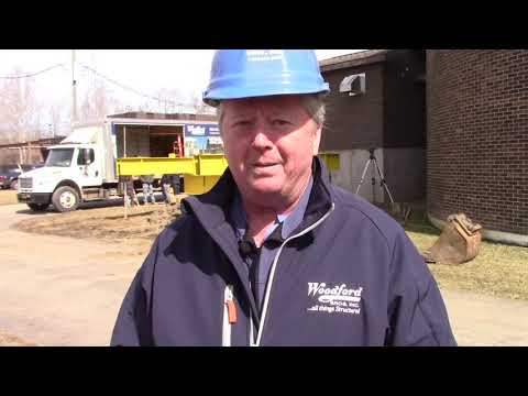 Woodford Bros., Inc. Helical Pile Compression Load Test