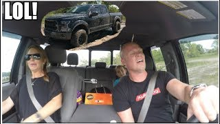 Finally Off Roading AND Mudding In The F150.. With My Family... **Bad Idea**