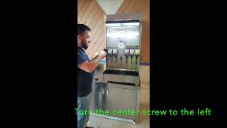How to Change a LEV Valve on a Tractor Beverage Machine