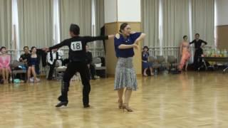 社交ダンス ルンバ 優勝 第17回ヤングサークル10ダンス選手権 草の根競技会