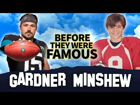 Gardner Minshew | Before They Were Famous | Biography | Jacksonville Jaguars Quarterback