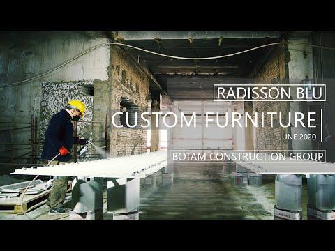 Radisson Blu Iveria - Custom Furniture
