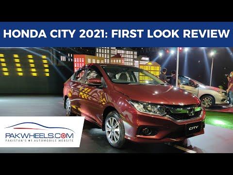 Honda City 2021 1.5L Aspire CVT | First Look Review | PakWheels