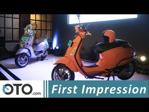 Vespa Primavera 150 ABS & Sprint 150 ABS | First Impression | OTO.com