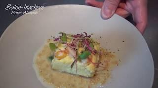 フランス料理 魚のタルト レモンマスタードソース サロン・イナシュヴェ