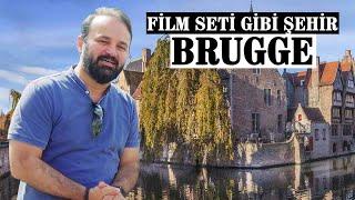 Belçikanın Turistik Kenti Bruggeü Gezdik!
