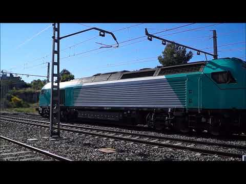Trenes por Mar¢a y Els Guiamets Tarragona junio 2016