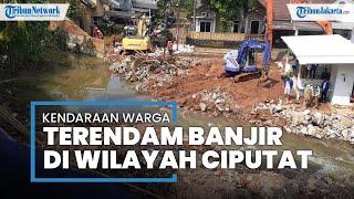 Imbas Banjir Ciputat, 27 Mobil dan 50 Motor Terendam di Perumahan Pondok Payung Mas
