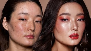 How I Do Makeup On My Clients   Asian Beauty