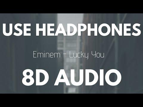 Eminem - Lucky You (Feat. Joyner Lucas)   8D AUDIO