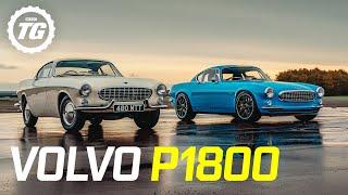 Volvo P1800 Cyan Racing 424bhp/tonne Restomod vs original | Top Gear RETROspective