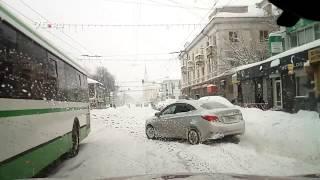 Снежная буря в Ярославле