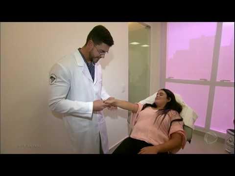 Atopic neurodermatitis na cabeça