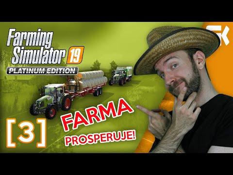 FARMA PROSPERUJE! | Farming Simulator 19 Platinová edice #03