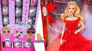 ОХОТА ЗА ИГРУШКАМИ! НОВОГОДНИЕ НОВИНКИ! Toy Hunt for kids Куклы ЛОЛ + МЛП + Сквиши + Барби