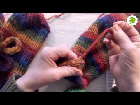 Hausschuhe aus Filzwolle stricken und filzen | Do it Yourself Eigen Kreationen