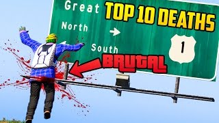 TOP 10+ DEATHS & FAILS OF THE WEEK IN GTA 5! (Brutal & Funny Deaths) [Ep. 59]