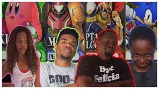 SHUT UP!! WE'RE FOCUSED!! - Super Smash Bros. Wii U Gameplay