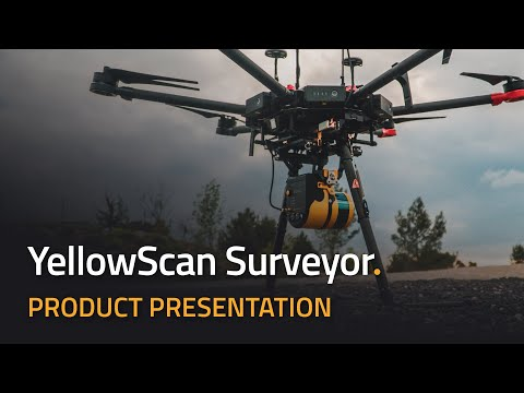 Discover the new YellowScan Surveyor LiDAR system