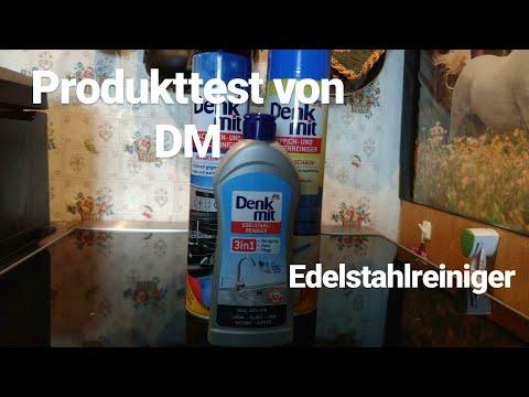 DM Produkttest von Edelstahlreiniger