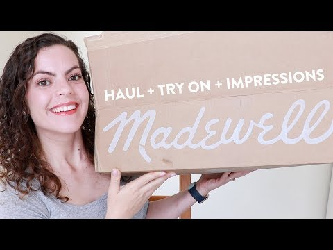 HUGE MADEWELL HAUL + TRY ON | Spring 2018 NEW ARRIVALS | First Impressions