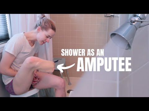 Come Shower With Me! 🚿 Showering Without a Leg