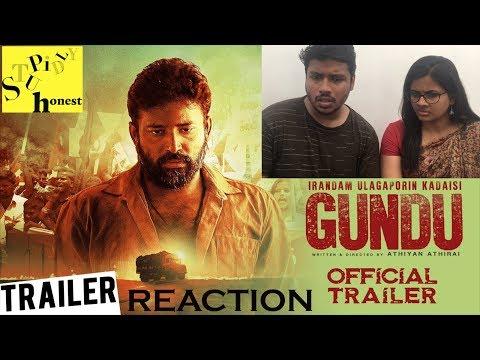 Irandam Ulagaporin Kadaisi Gundu Trailer Reaction by Malayalees | Dinesh, Anandhi | Athiyan Athirai