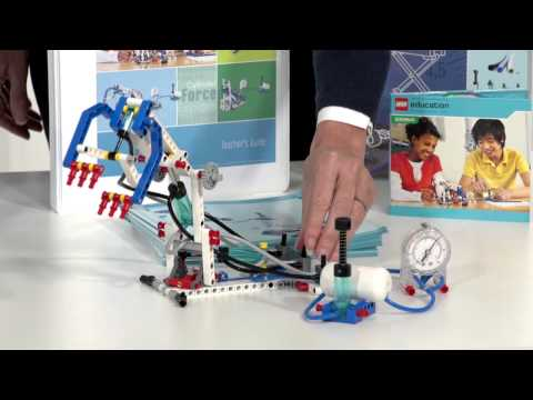 Обзор LEGO Education Machines and Mechanisms 9641