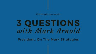 3 questions with On The Mark Strategies' Mark Arnold