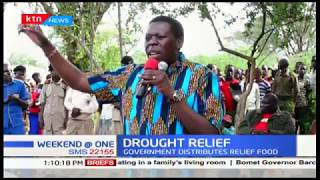 Government assures all drought-stricken counties of relief food support