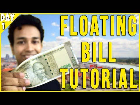 Floating Bill Trick Revealed
