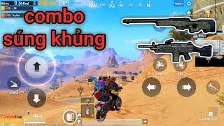 PUBG Mobile - Dou Squad Cùng Huy Nam Map Sa Mạc | M249 Cân Team Bo Cuối Cực Dễ
