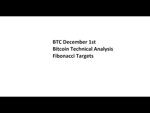 BTC December 1st Bitcoin Technical Analysis – Fibonacci Targets