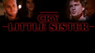 Cry Little Sister - Stranger Things style Synthwave cover