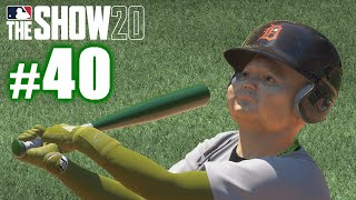 BABY YODA HITS FOUR HOME RUNS IN ONE GAME! | MLB The Show 20 | Road to the Show #40