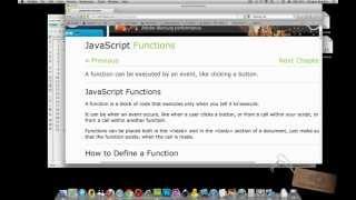 DECLARING a FUNCTION in JAVASCRIPT - Super Simple Javascript/jQuery Tutorials
