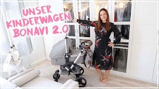 Unser Kinderwagen • Aufbau & Funktionen • Bonavi 2.0 • REVIEW nach 9 Monaten • Maria Castielle