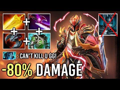 EPIC -80% Damage Pro DK vs Right Click PA Burn Them All Build Top Rank Gameplay 7.21 Dota 2