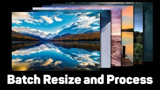 Batch Processing in Photoshop | Resize and Edit Multiple Images