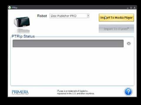 Primera Disc Publisher DP-4202 CD / DVD Roboter - 2 Laufwerke 2x50Disc Kapazität
