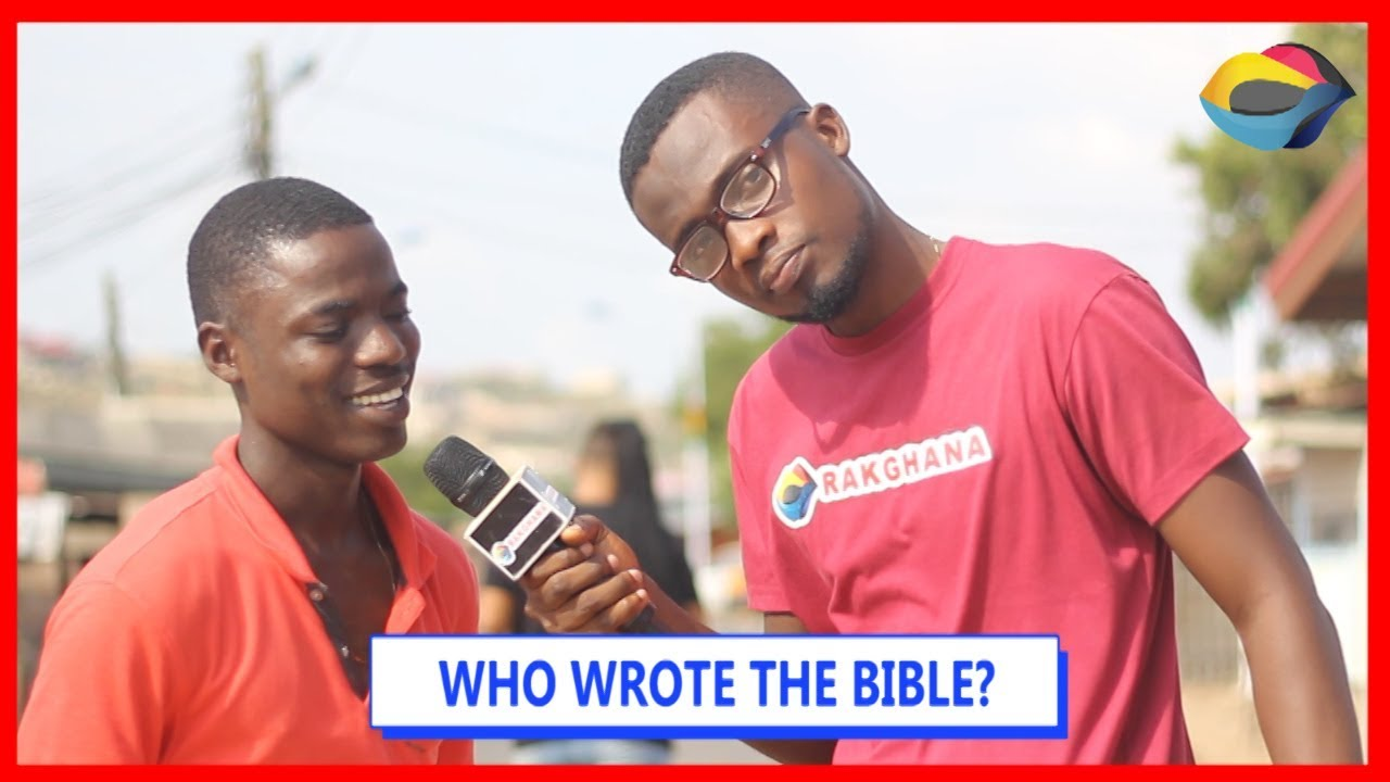 Who Wrote The BIBLE? | Street Quiz | Funny Videos | Funny