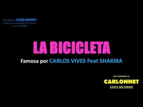 La Bicicleta Shakira