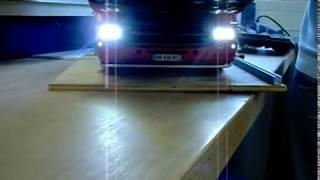 Tamiya MFC 01 deux niveaux de puissance sur une LED .Zwei verschiedene Helligkeiten mit einer LED