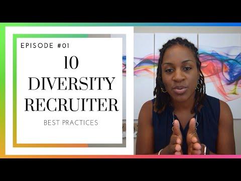 Diversity Recruiter Best Practices