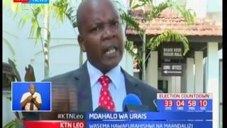 Utata umejitokeza kuhusu mdahalo wa urais baada ya Rais Uhuru na Raila Odinga kusema hawatashiriki